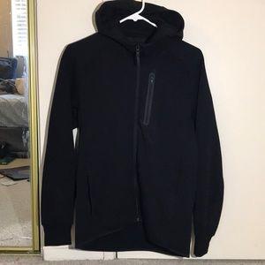 Uniqlo jet Black Sports ZIP-up hoodie